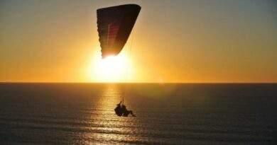 parachute ascensionnel